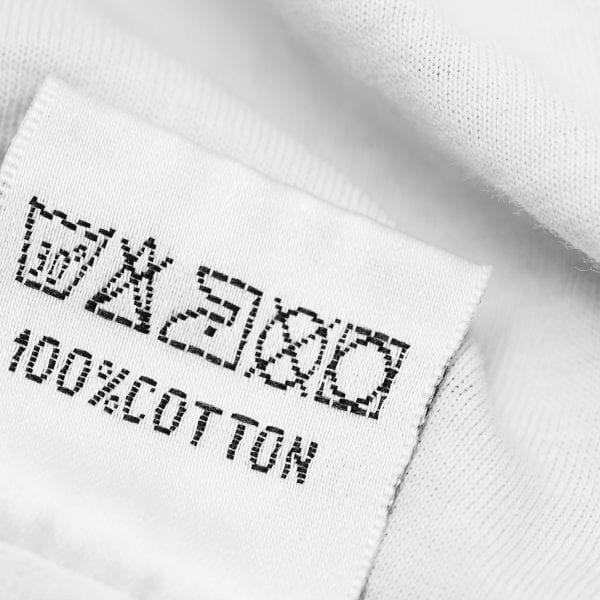 Símbolos de las etiquetas de las prendas