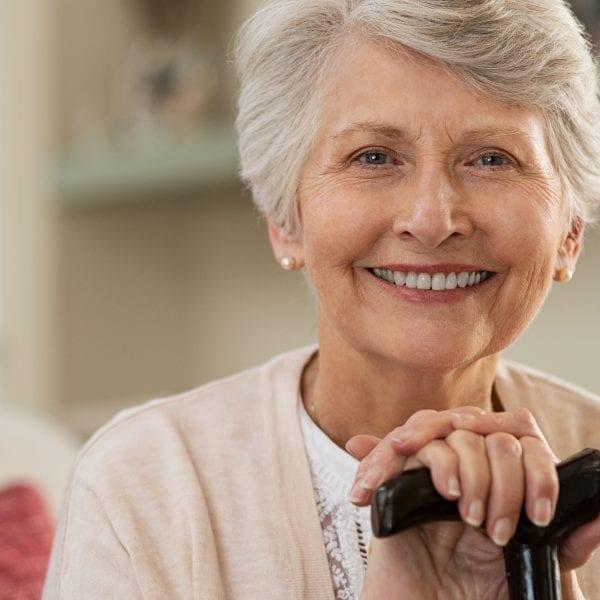 Cuidadora de persona mayor en Madrid